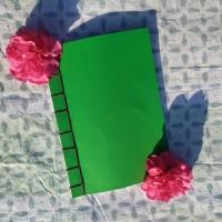 Fabriquer un cahier A4 reliure japonaise (DIY)