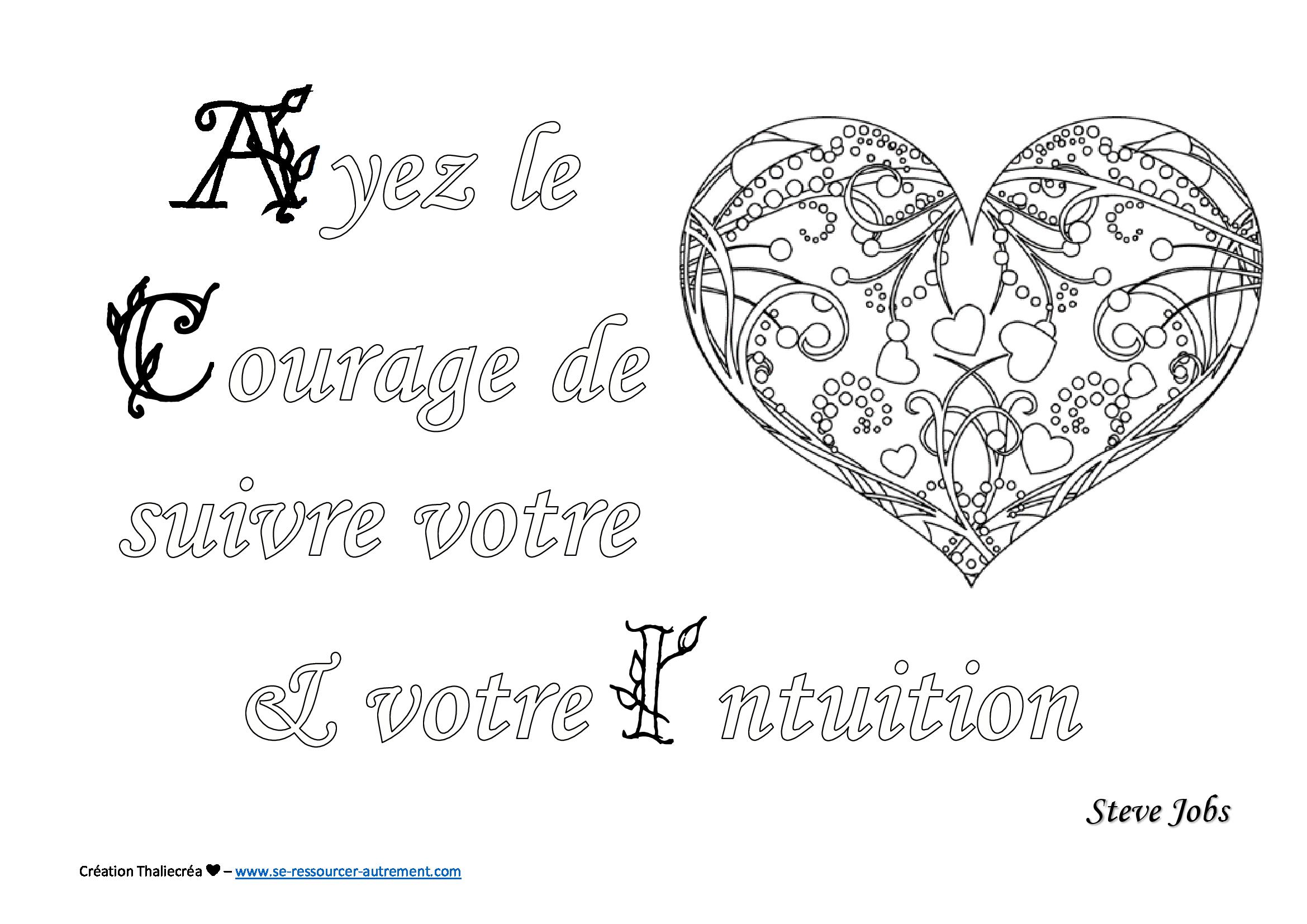 citation 1 image - Coloriage Dtente