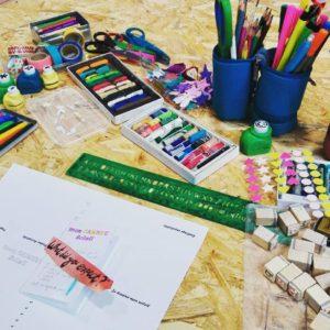 A la rencontre du journal créatif (atelier découverte enfant) @ Artéis Bayonne