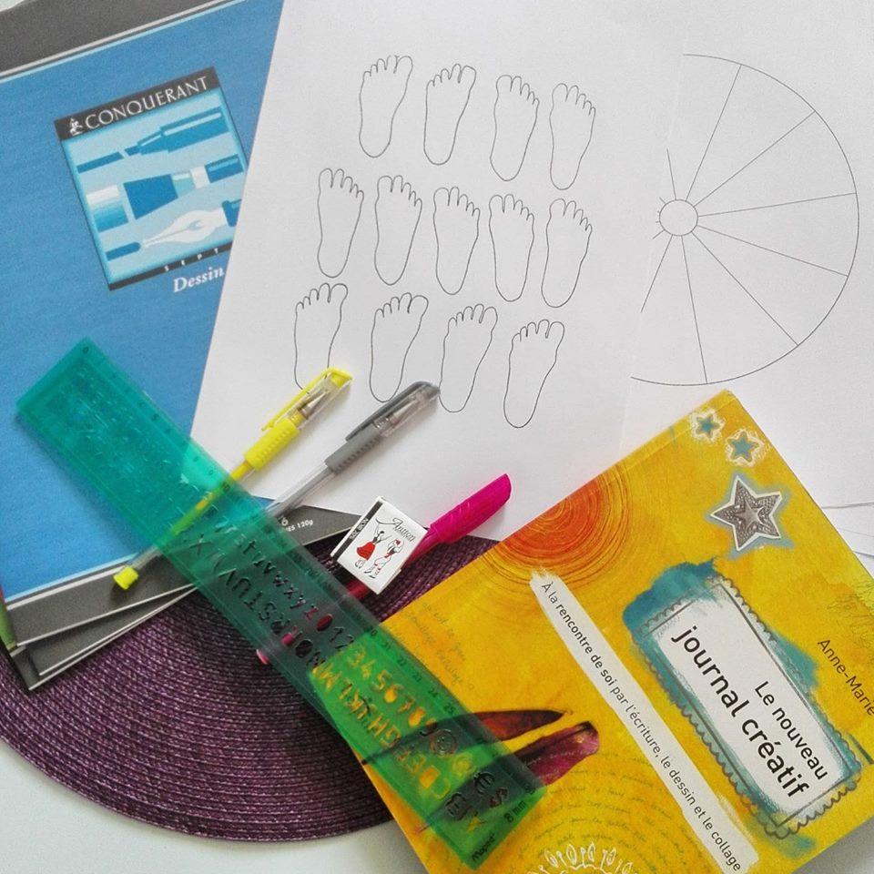A la rencontre du journal créatif (atelier découverte) @ Artéis Bayonne