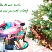 Bilan de mon année avec mon journal créatif