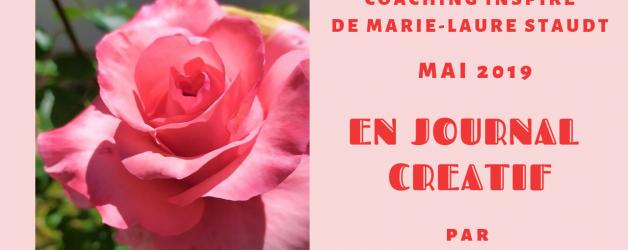 Coaching de mai 2019 en Journal Créatif